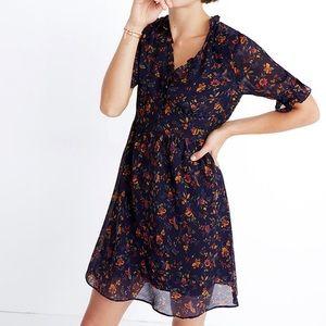 Madewell Freesia Floral dress